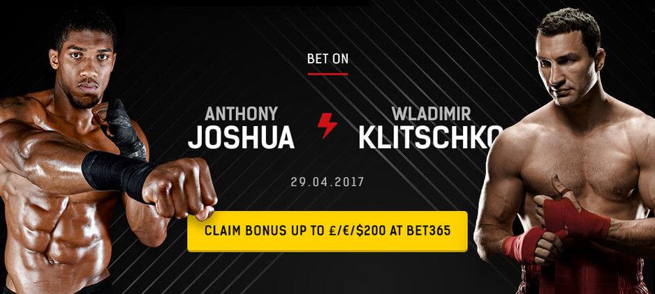 Joshua Vs Klitschko Betting