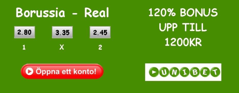 Borussia – Real Betting