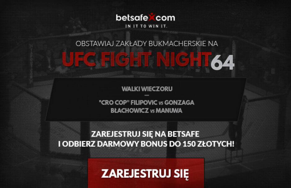 UFC Fight Night 64 Typy Bukmacherskie