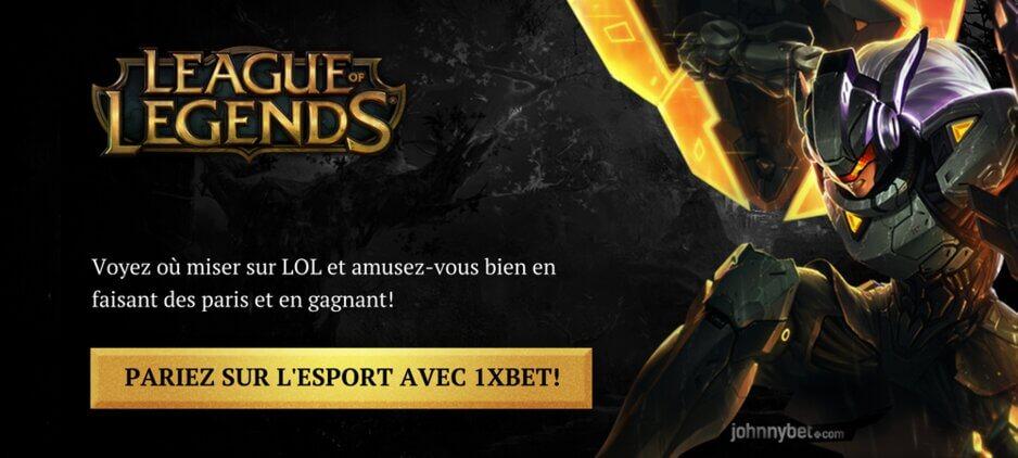 Parier Sur League Of Legends En Ligne