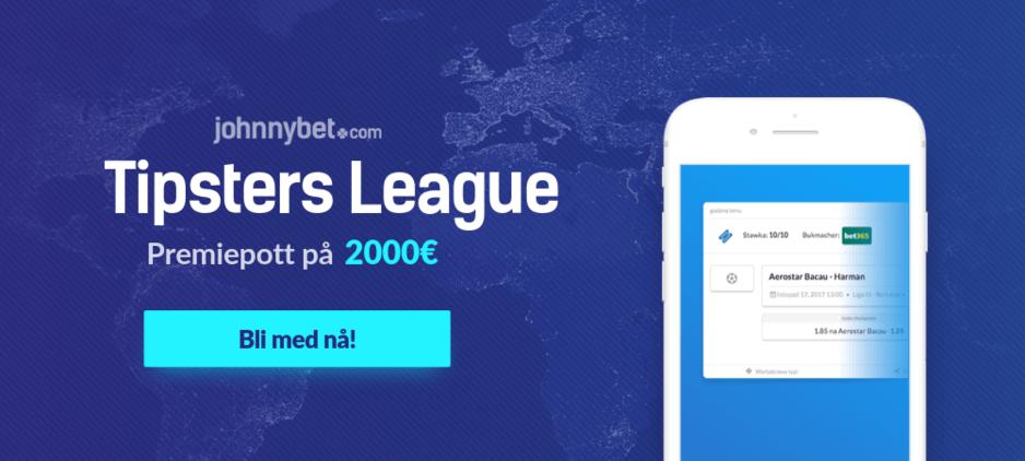Tipsters league gratis odds konkurranse