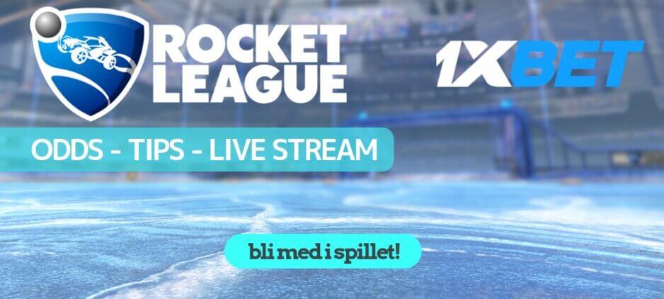 Rocket league odds 1xbet