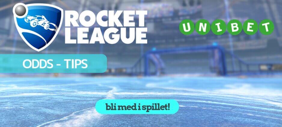 Rocket league odds unibet