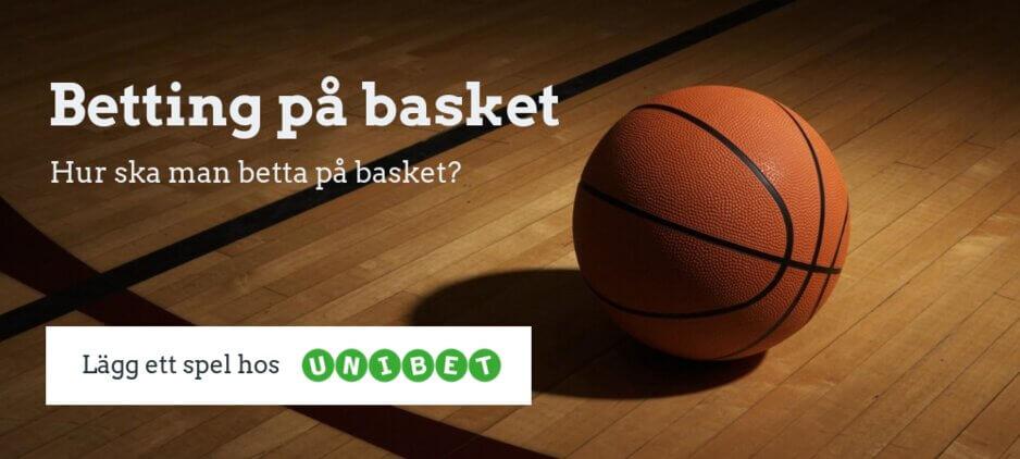 Betta på basket