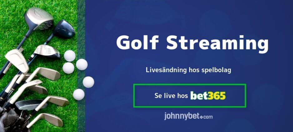 Streama golf online bet365