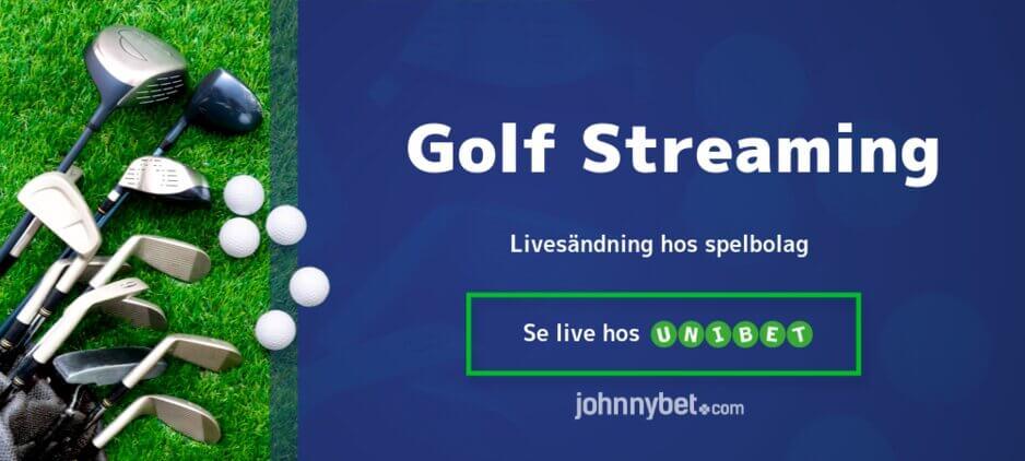 Streama golf gratis