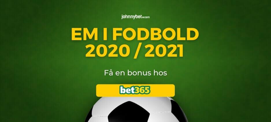 EM 2020 / 2021 Betting Odds