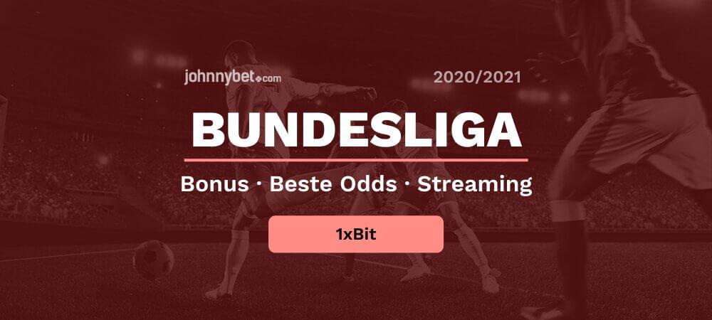 Bundesliga wedden 1xbit