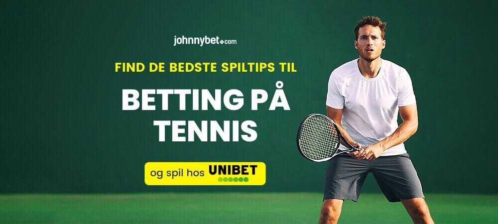 Tennis betting odds banner unibet
