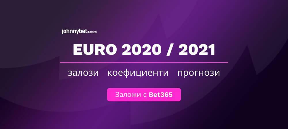 Евро 2020 / 2021 коефициенти