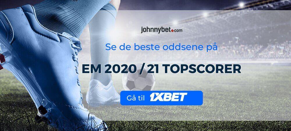 EM 2020 / 2021 Topscorer Odds