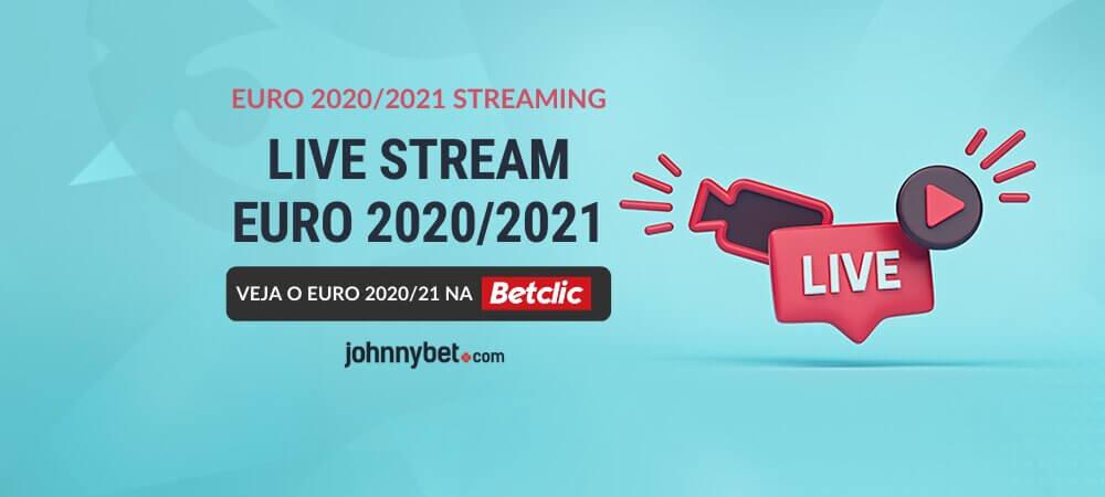 Euro 2020/21 Transmissão Ao Vivo