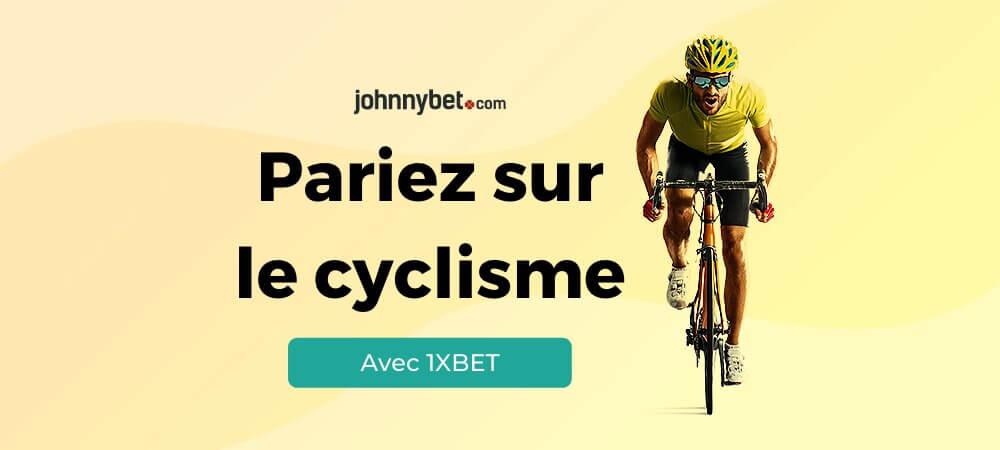 Paris cyclisme sur 1xbet