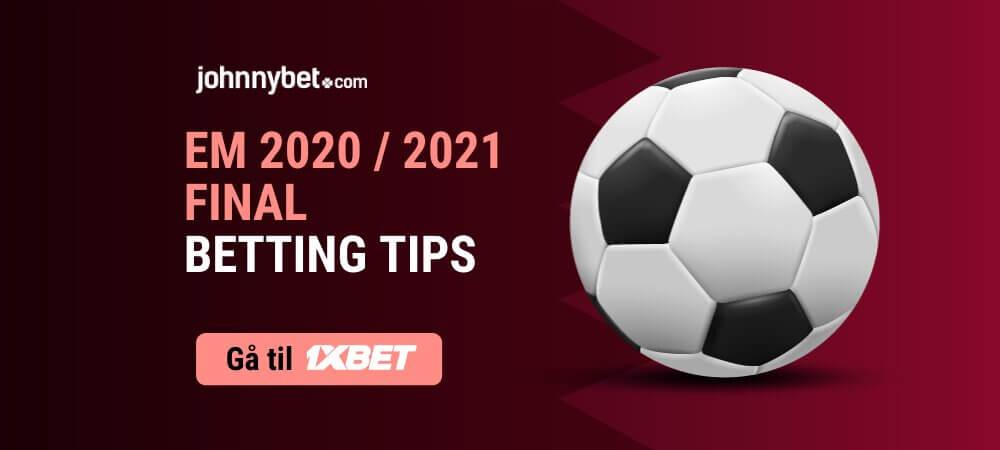 Em 2020   2021  betting  tips  1xbet
