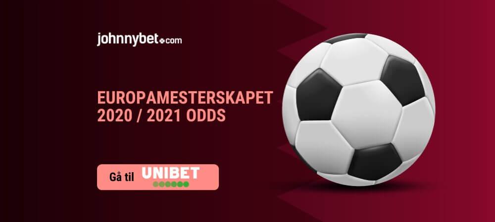 EM 2020 / 2021 Odds