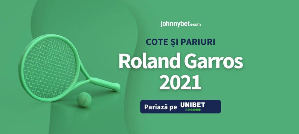 Roland Garros 2021 Cote și Pariuri
