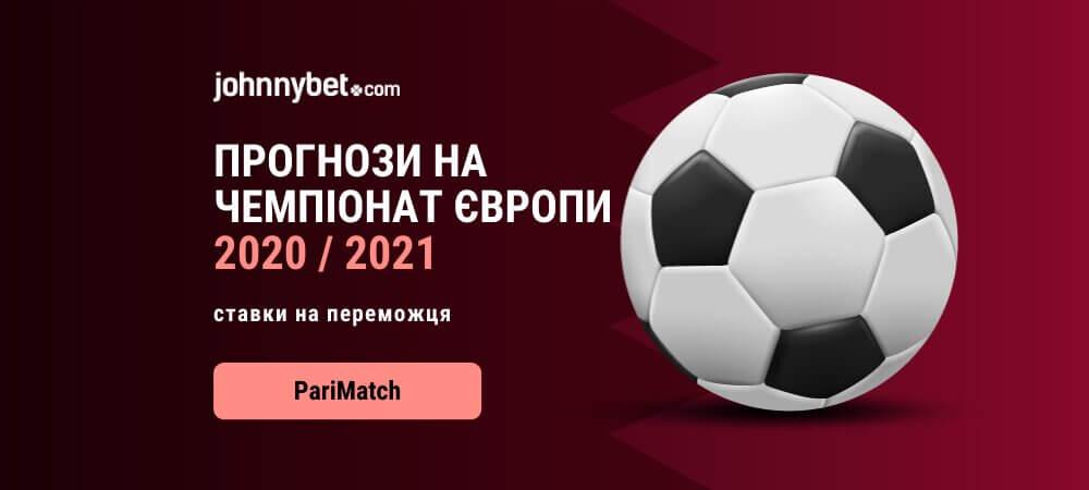 Чемпіонат Європи 2020 / 2021 прогнози