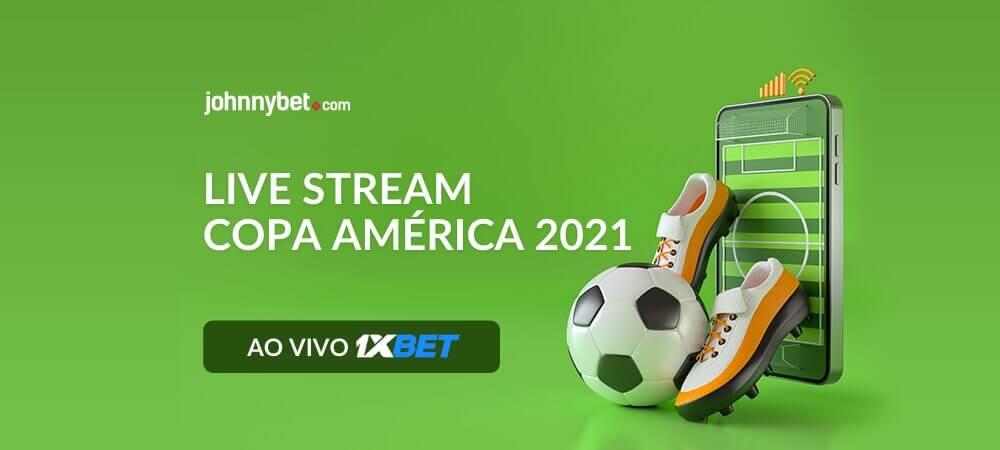 Onde Assistir os Jogos da Copa América 2021