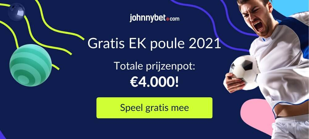 Gratis EK poule 2021
