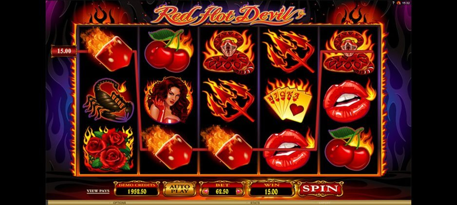 Red Hot Devil Slot Machine Online