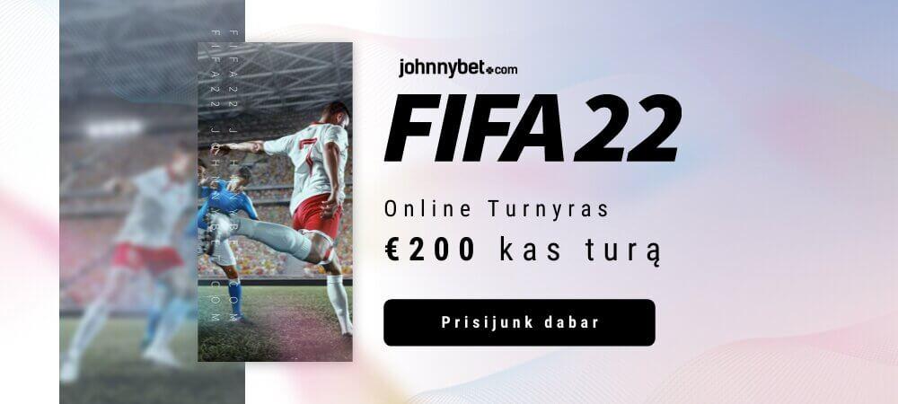 FIFA 22 Nemokamas Online Turnyras