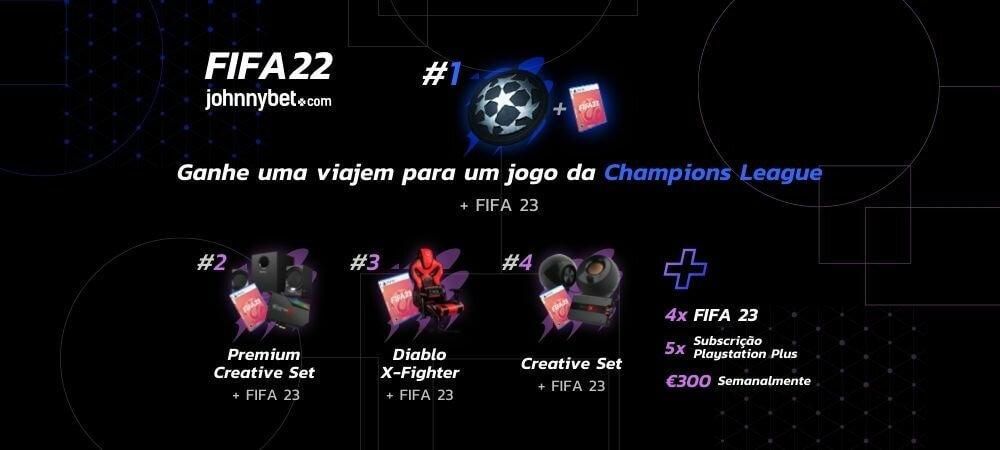 Campeonato de FIFA 22 Online PS4/PS5