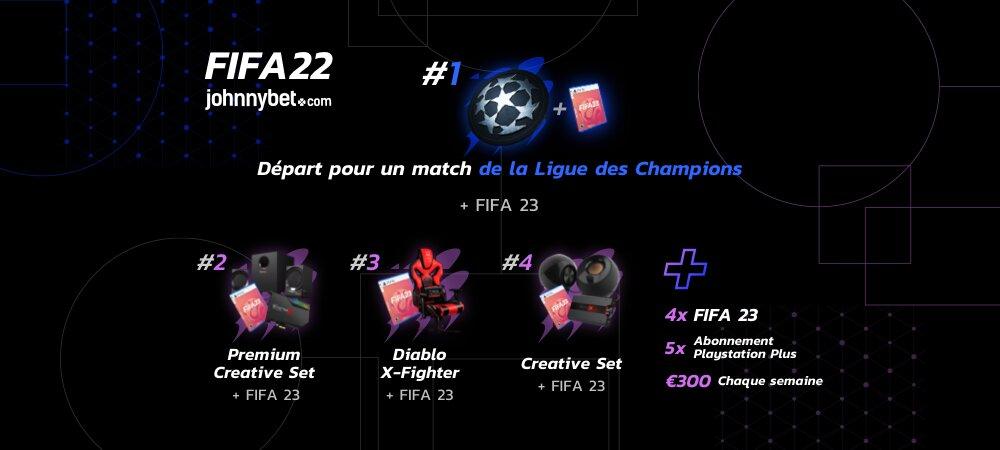 Tournoi en ligne FIFA 22