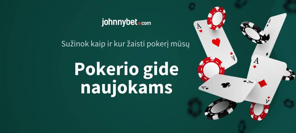 Pokerio Gidas Naujokams