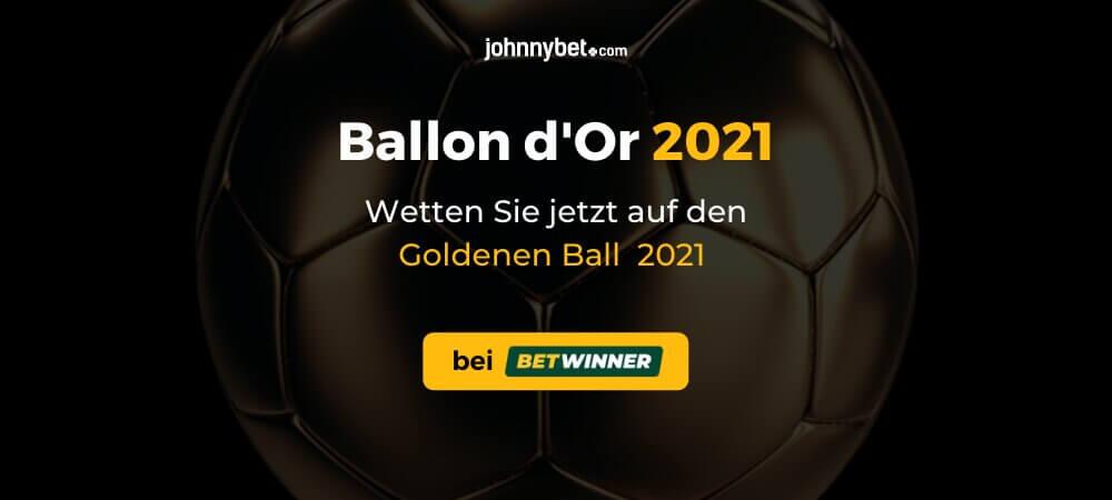 Ballon d'Or 2021 Wettquoten