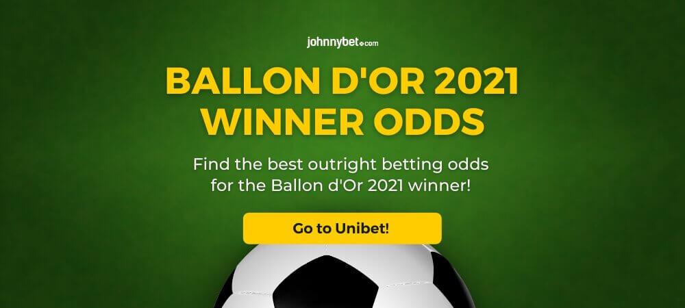 Ballon d'Or 2021 Winner Odds