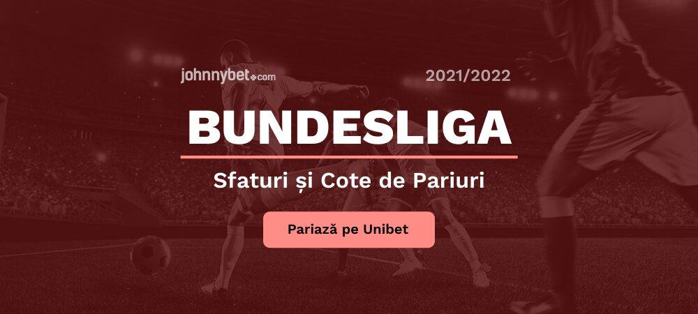 Bundesliga Cote și Pariuri