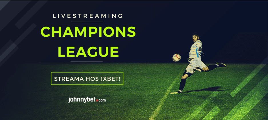 Gratis stream av Champions League