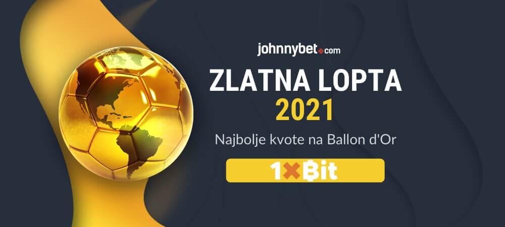 Zlatna lopta 2021 Kladionica