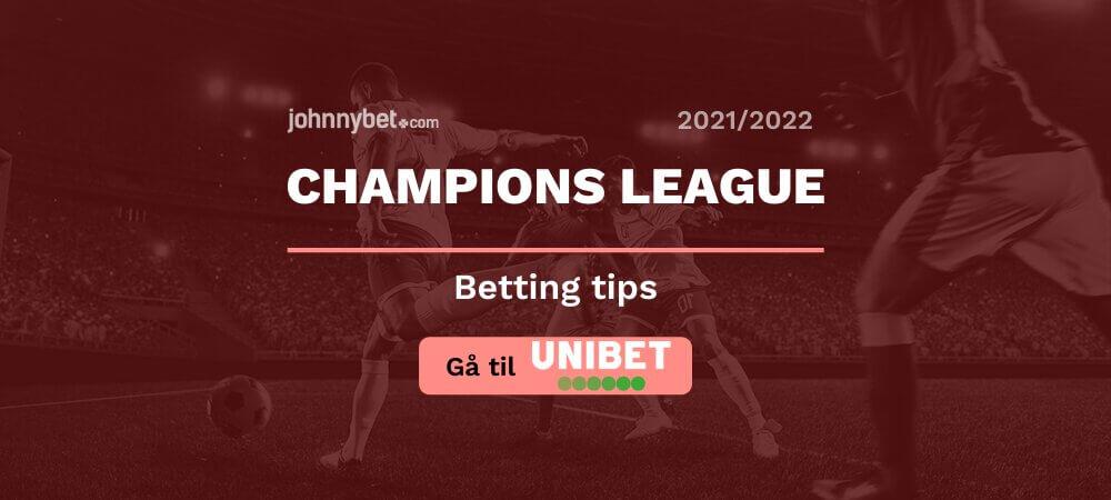 Unibet champions league odds