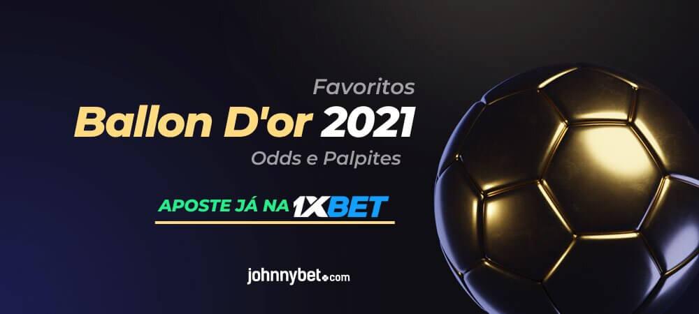 Bola de ouro prognostico odds apostas