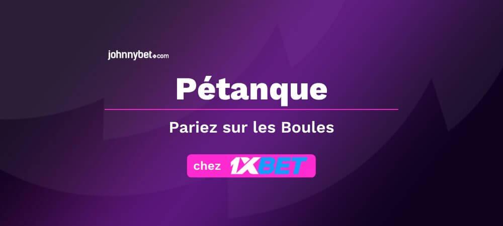 Pronostics Pétanque
