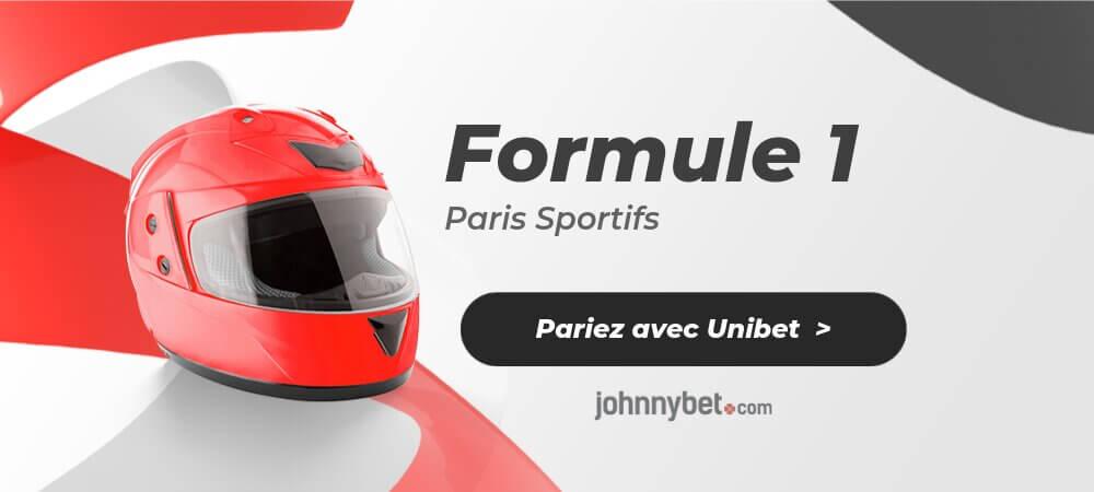 Paris Sportifs Formule 1