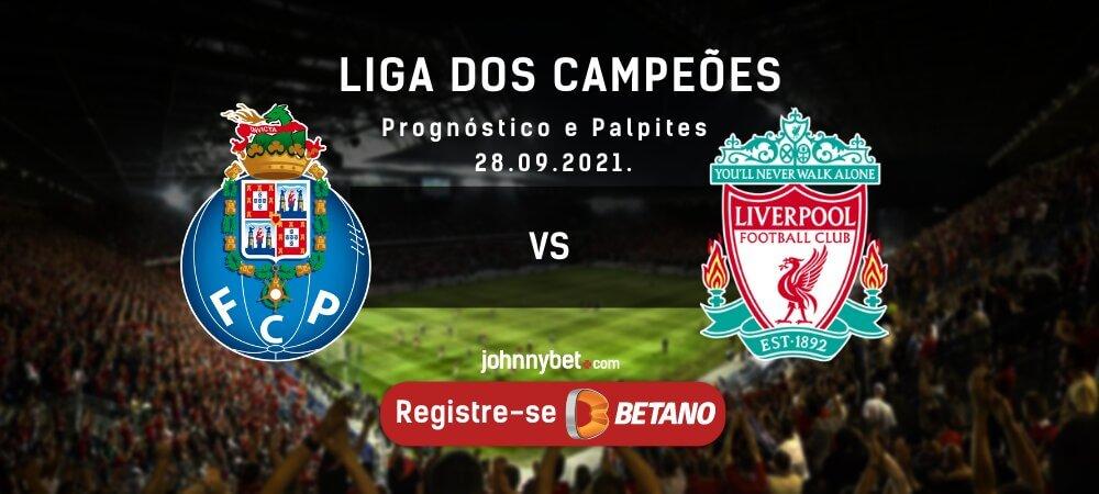 Prognóstico Porto x Liverpool