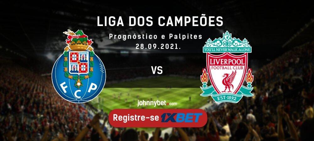 Porto vs liverpool palpites odds