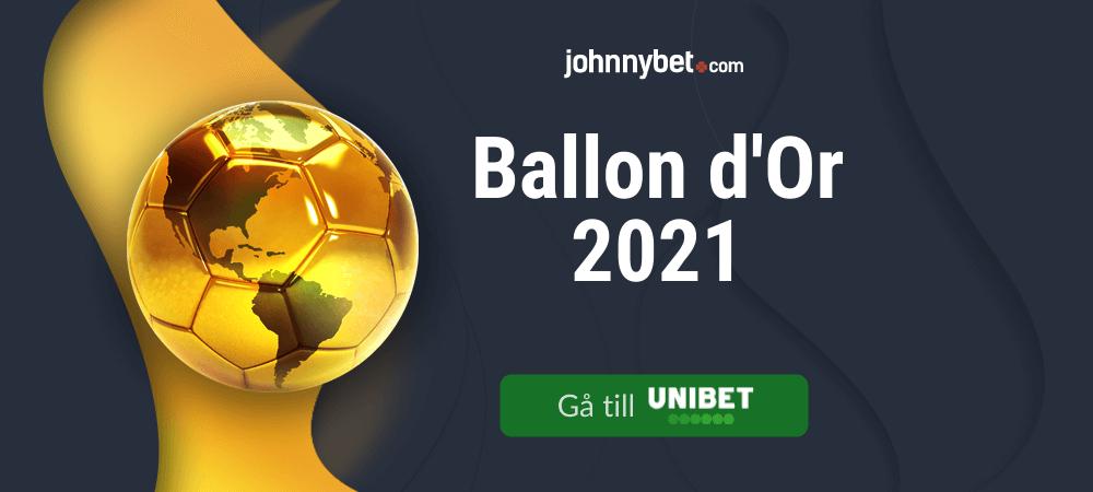 Speltips inför Ballon d'Or 2021