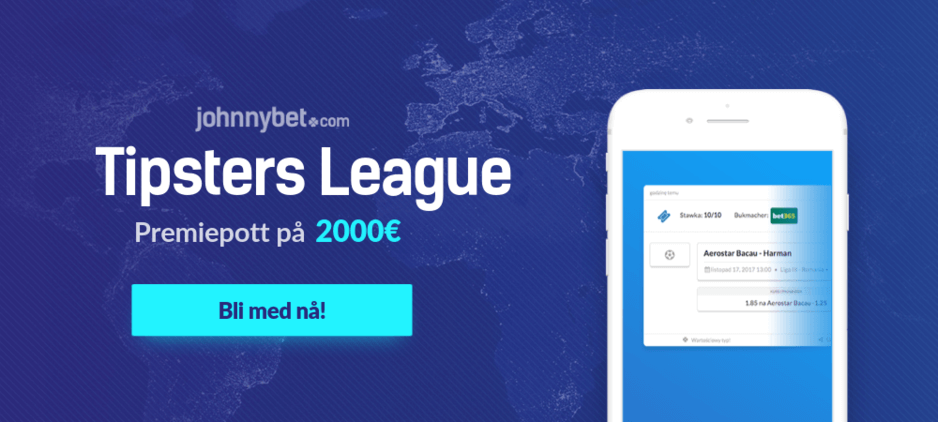 Tipsters league gratis odds konkurranse