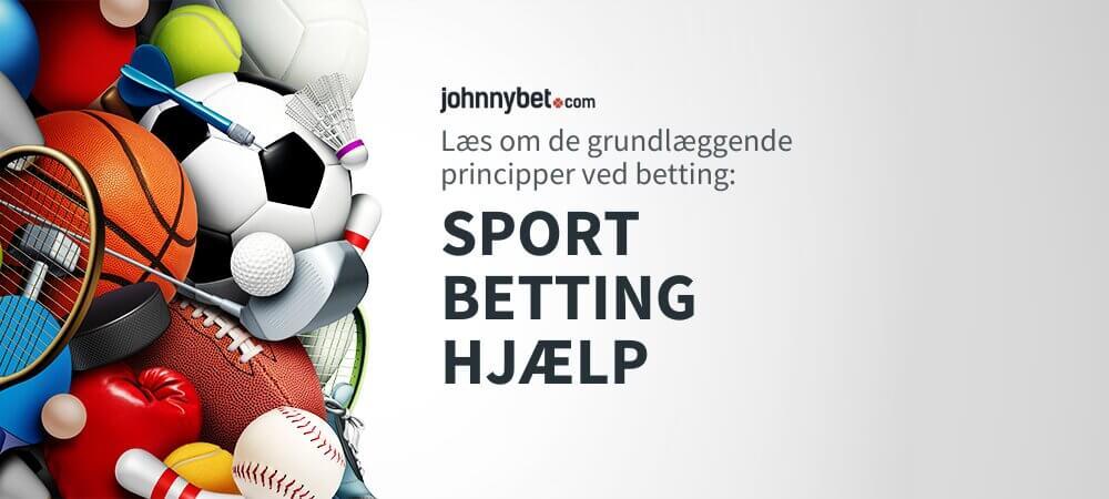 Sport Betting Hjælp