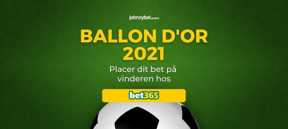 Ballon d'Or 2021 Bedste Odds