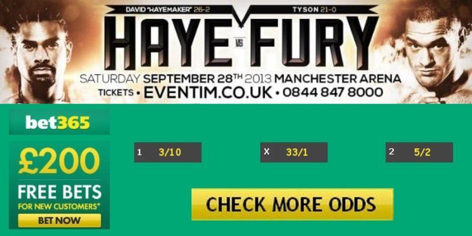 Haye vs fury betting odds lay betting calculator football