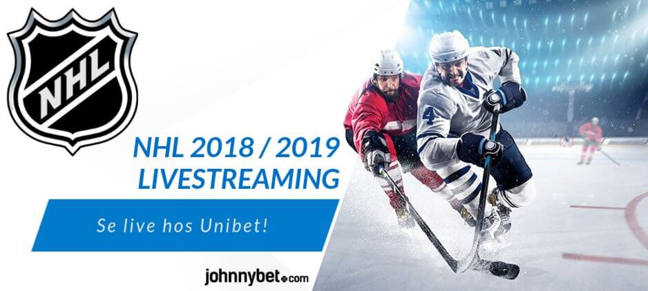 Streama NHL gratis