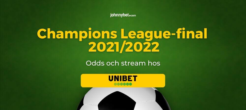 Champions League-final 2022 gratis stream, odds