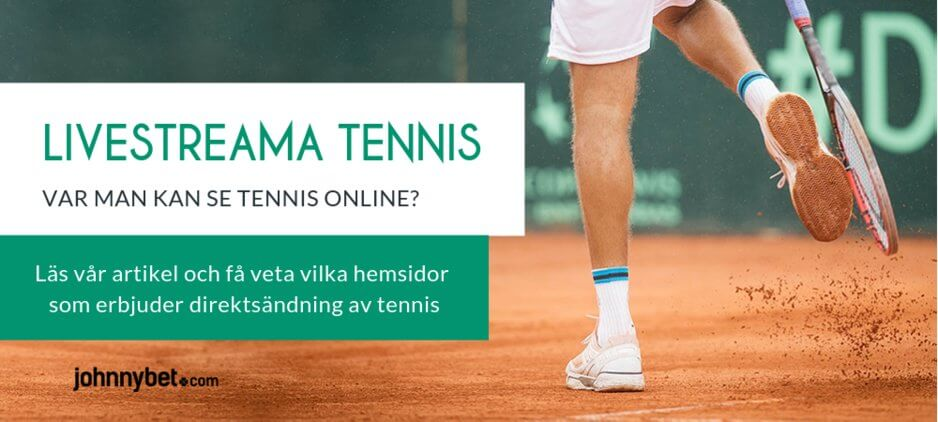 Streama tennis gratis