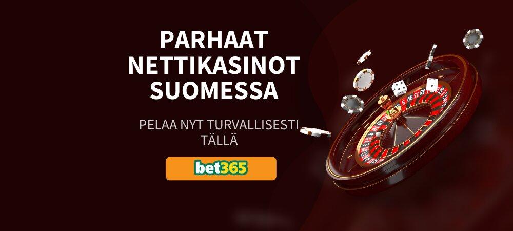 Parhaat nettikasinot Suomessa