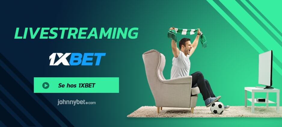 Livestreaming online 1xbet