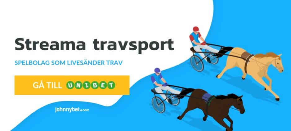 Streama travsport gratis